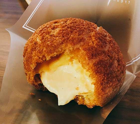紀伊長島地區「卵卵ふわぁ~む」人氣NO.1的雞蛋鮮奶油泡芙