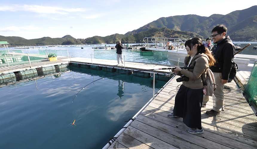 日本東紀州熊野古道海釣體驗「海上釣り掘 貞丸」