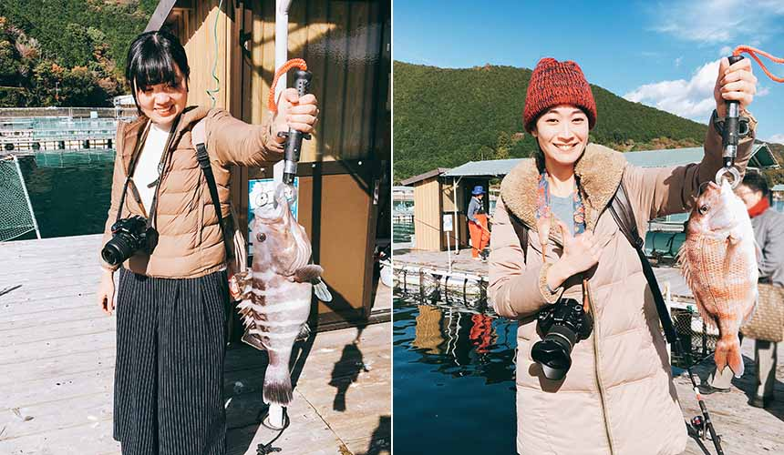 「樂吃購!日本」記者實際在「海上釣り掘 貞丸」體驗海釣