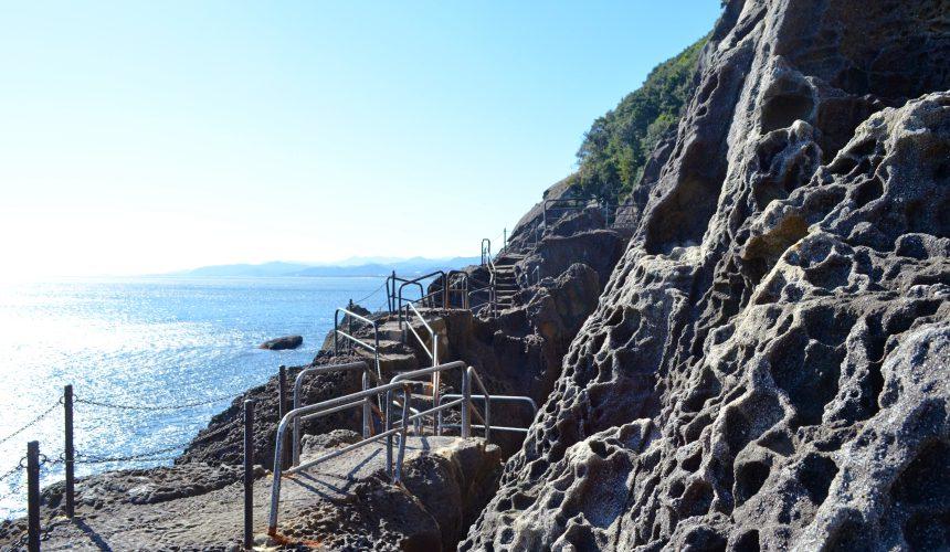 東紀州「三重熊野」鬼之城步道狹窄