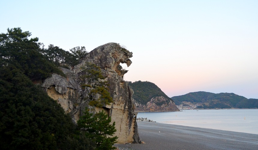 東紀州「三重熊野」鬼之城獅子岩