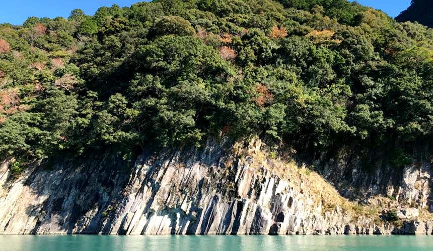 日本東紀州「三重熊野」世界遺產巡禮熊野川河邊美景