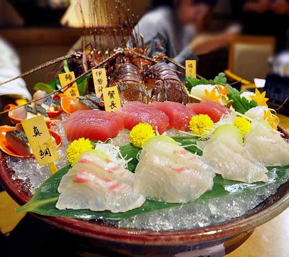 熊野的海鲜鱼货