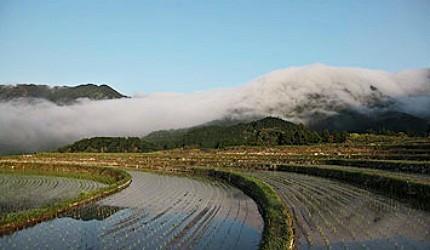 风传岭的朝雾绝景
