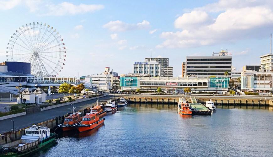 日本自由行名古屋港亲子一日游