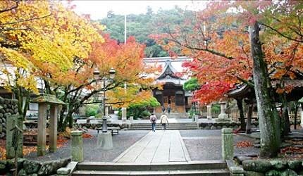 浓浓古都氛围的修禅寺