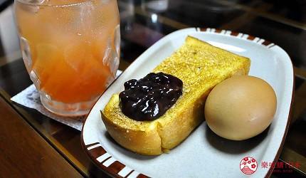 愛知縣津島市古民家咖啡廳「琥珀」早餐