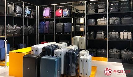 日本名古屋三井OUTLET逛街购物折扣Samsonite BLACK LABEL行李箱