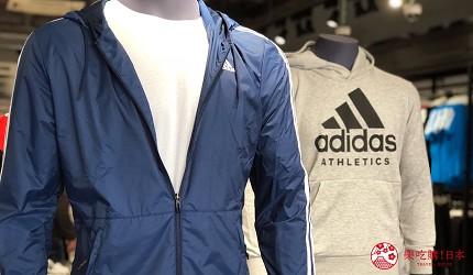 日本名古屋三井OUTLET逛街购物折扣运动用品Adidas服饰