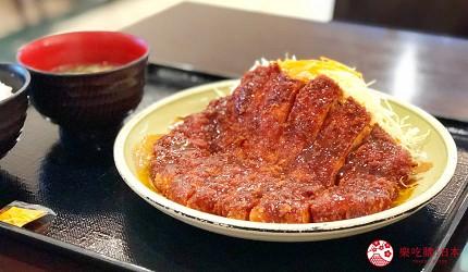日本名古屋三井OUTLET美食矢场とん味噌炸猪排