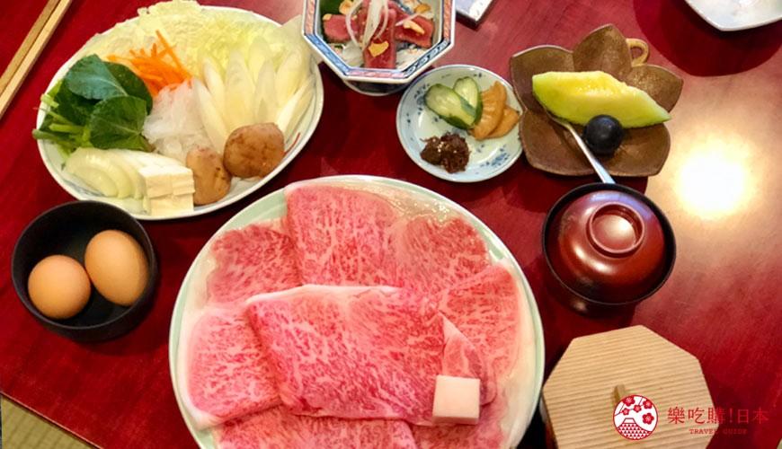 日本三重頂級松阪和牛燒肉、壽喜燒推薦「肉料理まつむら」頂級松阪牛壽喜燒