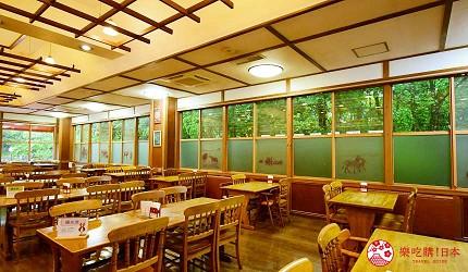 静冈景点亲子游推荐富士野生动物园的餐厅