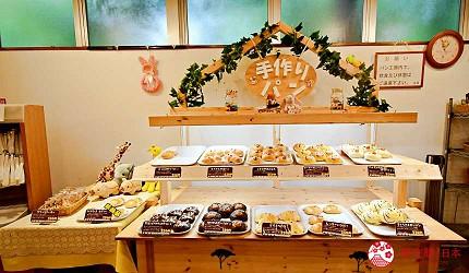 静冈景点亲子游推荐富士野生动物园的手工面包店