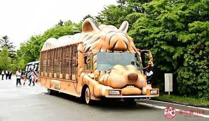 静冈景点亲子游推荐富士野生动物园丛林巴士