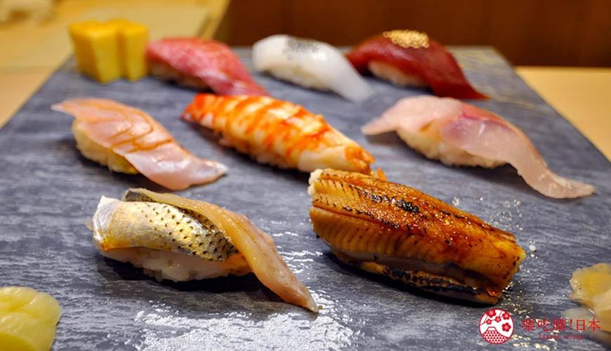 名古屋车站必吃江户前寿司名店「鮨 さわ田」的寿司套餐