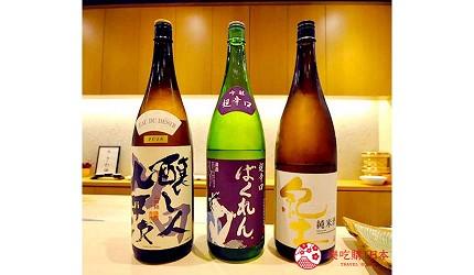 名古屋车站必吃江户前寿司名店「鮨 さわ田」可以喝到各款日本酒
