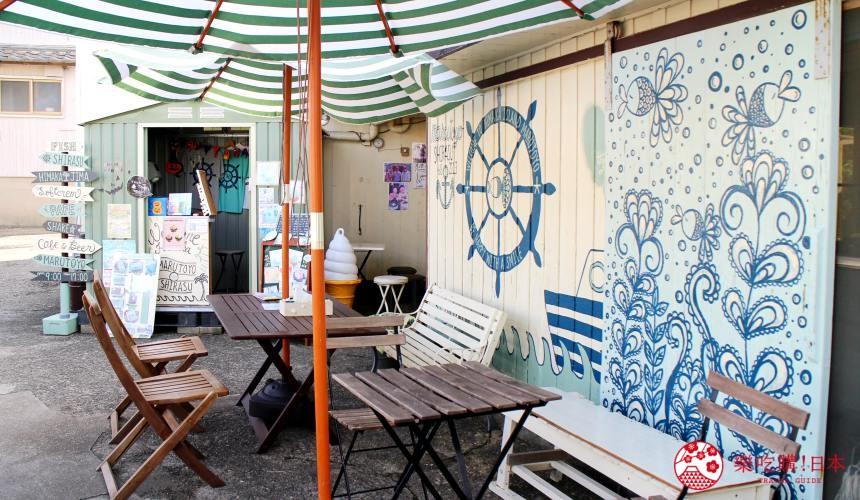 名古屋景點推薦離島章魚島日間賀島美食章魚料理吻仔魚香草冰淇淋
