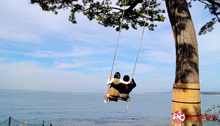 名古屋景點推薦離島章魚島日間賀島風景