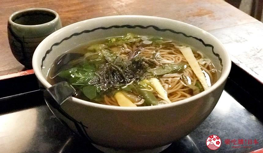 日本中部名古屋自驾租车推荐美食山菜荞麦面