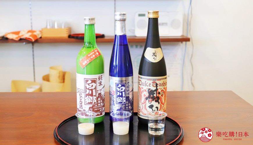 名古屋附近的推薦玩半日的西美濃文青小鎮大垣百年釀酒廠三輪酒造的出品日本酒