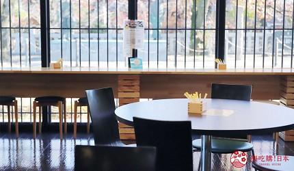 文青日本自由行新熱點必去松尾芭蕉流浪之路主題紀念館岐阜縣大垣市奧之細道終旅之地紀念館中附設可以眺望遠處水門川景色的咖啡廳