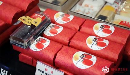 文青日本自由行新熱點必去松尾芭蕉流浪之路主題紀念館岐阜縣大垣市奧之細道終旅之地紀念館中可以買到的伴手禮岐阜縣出名的柿乾製成的柿羊羹