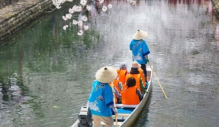 名古屋附近的推荐玩半日的西美浓文青小镇大垣可体验川上泛舟赏樱