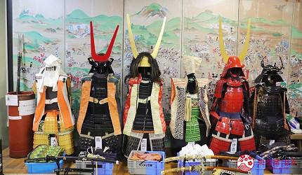 名古屋附近的推荐玩半日的西美浓文青小镇大垣可体验试穿的关原之战武将盔甲