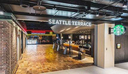 虎航台北高雄直飛超划算機票可以到的名古屋機場的西雅圖露台